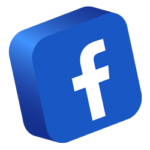 Facebook-logo-3d-button-social-media